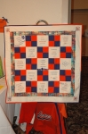The Memory Quilt was the big hit  of the silent auction and it won the most money for the scholarship fund!